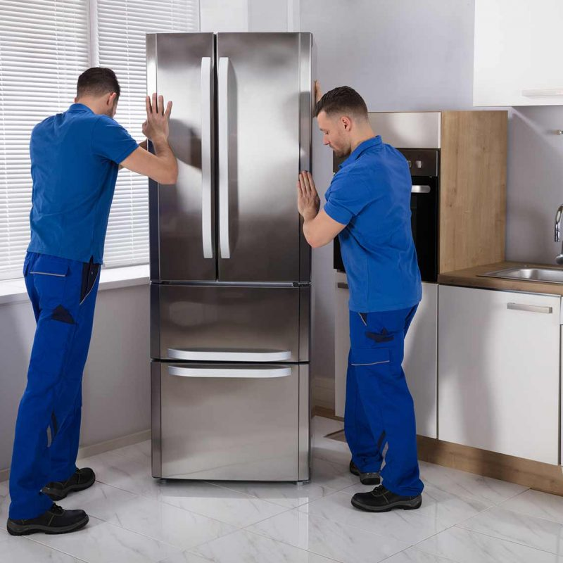 déménageurs professionnels (déménagement réfrigérateur)